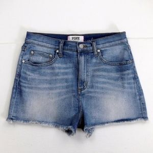Victoria Secret Pink Cut Off Jean Shorts Size 10